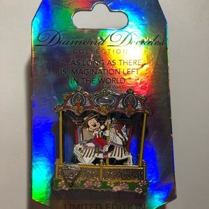 Disneyland Diamond Decades Limited Edition Pin